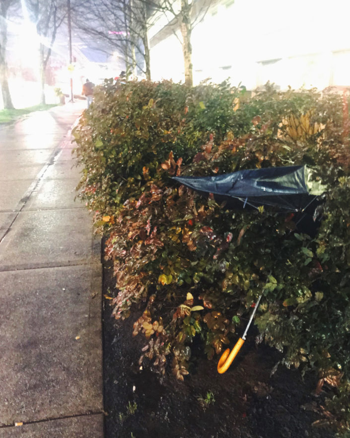 umbrella vancouver abandoned